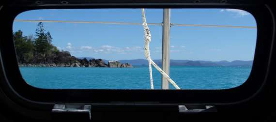 Window View on Boat