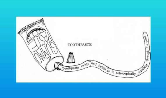 Toothpaste Shape Poem