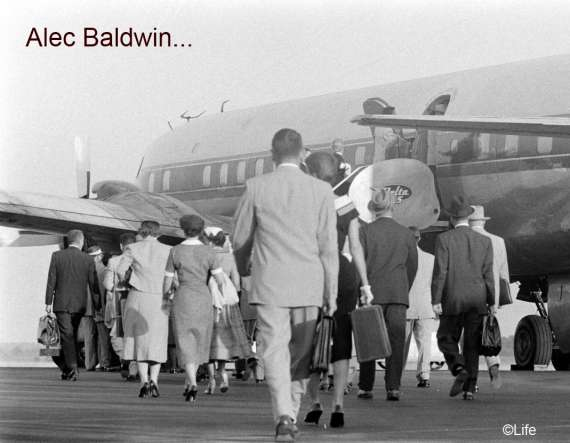 Airline Travel 1950's