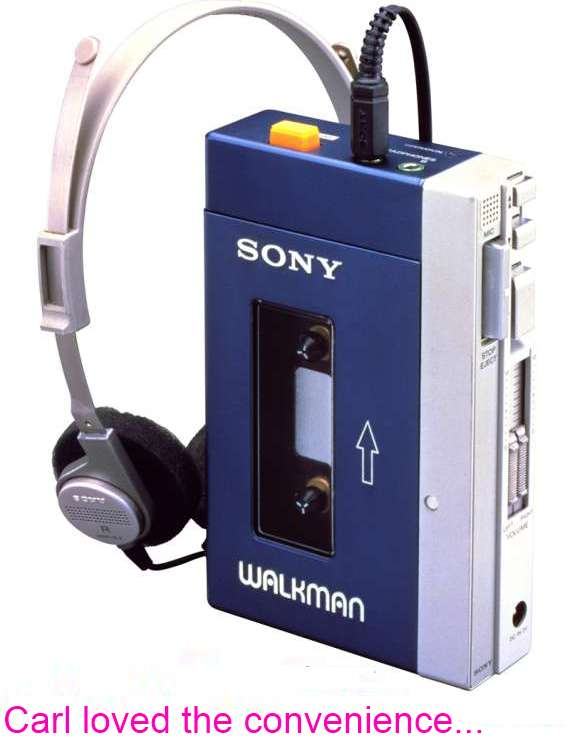 First Sony Walkman