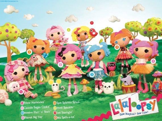 Lalaloopsy Doll Poems