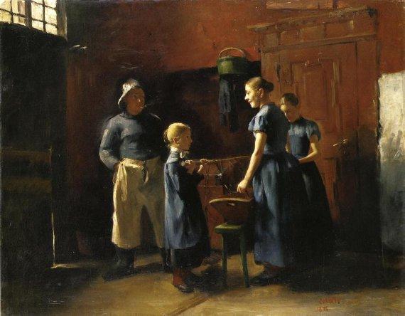 Lovis Corinth Im Fischerhaus 1886