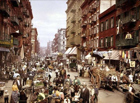 Mulberry Street New York City