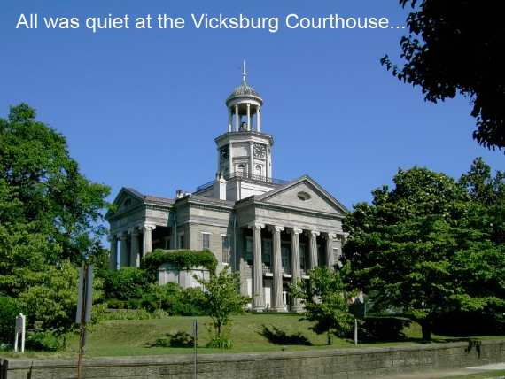 Old Vicksburg Courthouse