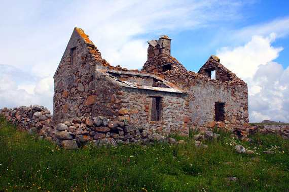 Omey Island Ruins
