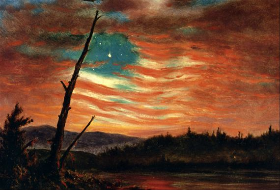Our Banner in the Sky, Frederic Edwin Church