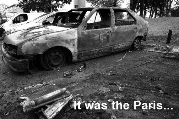 Paris Car Arson