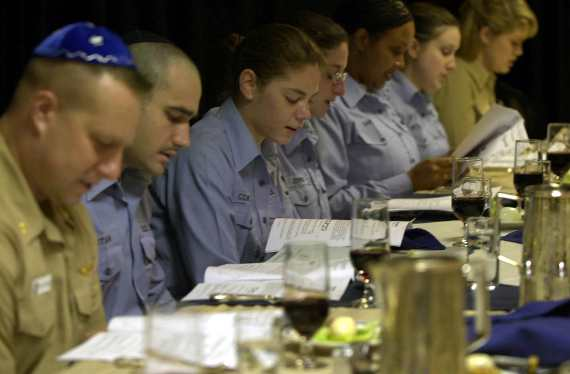 Passover Seder on USS Nimitz
