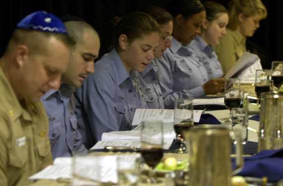 Passover Seder on USS Nimitz