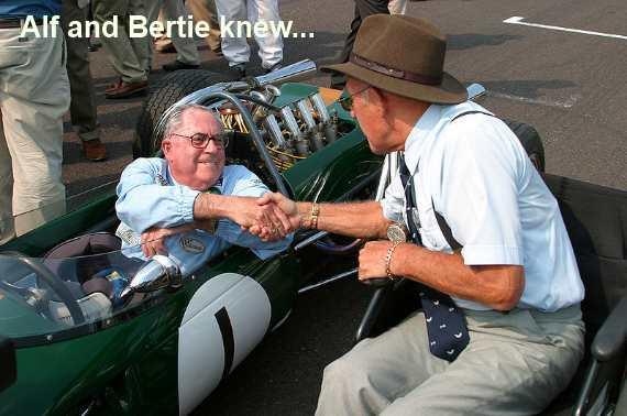 Vintage Race Car Drivers