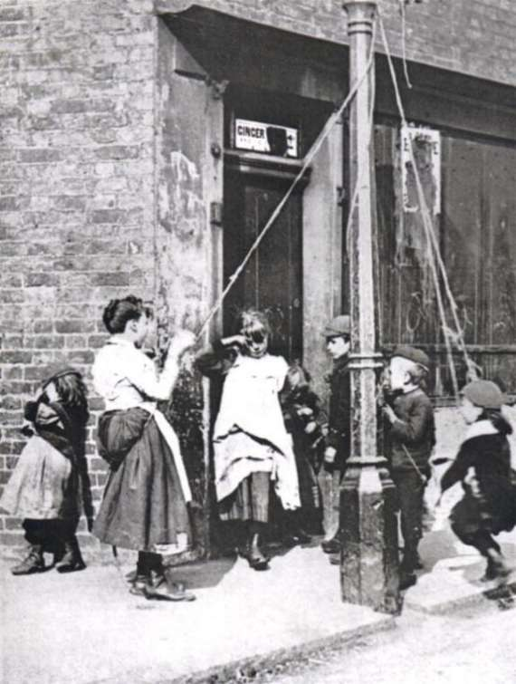 Street Children London 1890s