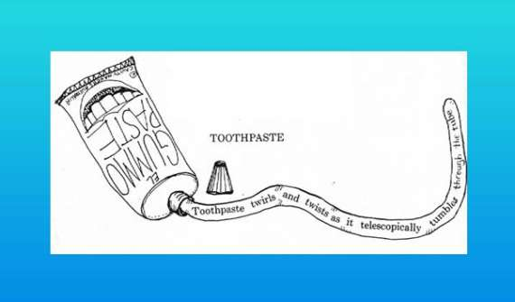 Toothpaste Shape Poem