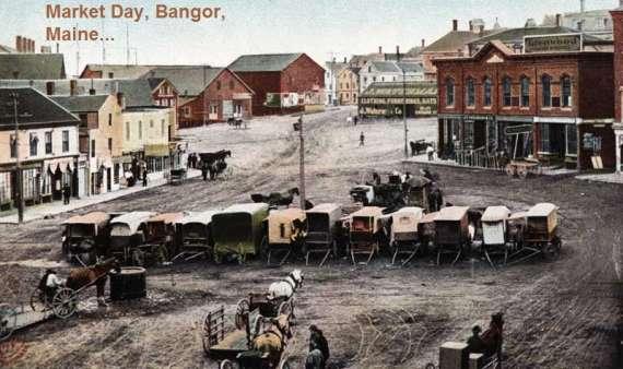 Bangor-Maine-Haymarket