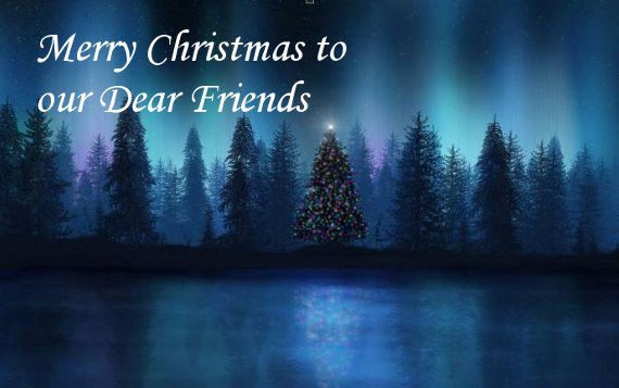 Christmas Card for Friends