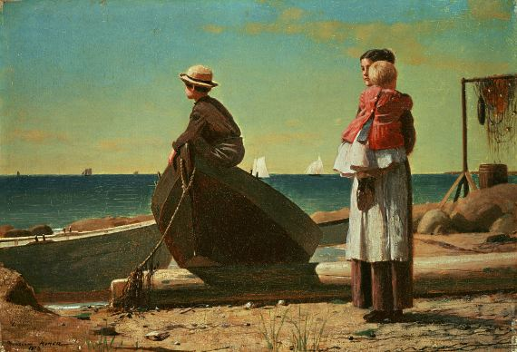 Dad's_Coming_by_Winslow_Homer,_1873
