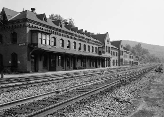 Erie Railroad Station Susquehanna