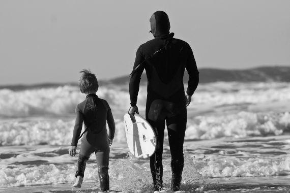 Father Son Surf Lesson