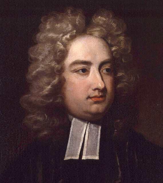 Jonathan Swift by Charles Jervas