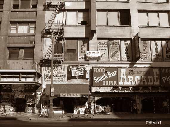 New York Slum