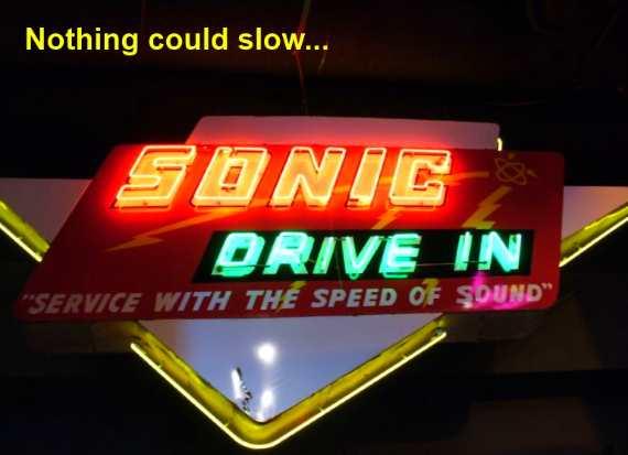 Sonic Sign Oklahoma