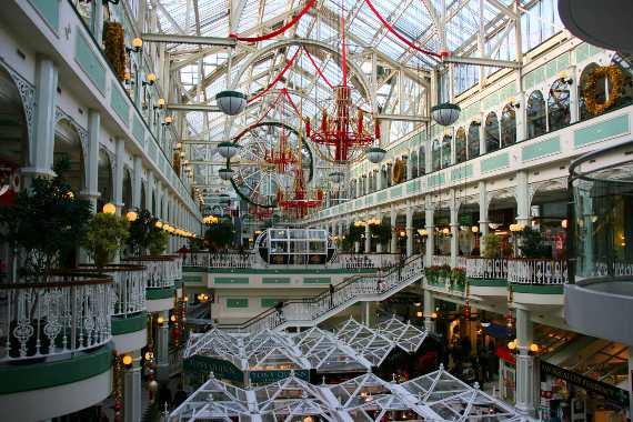 Stephen's Green Shopping Center Dublin
