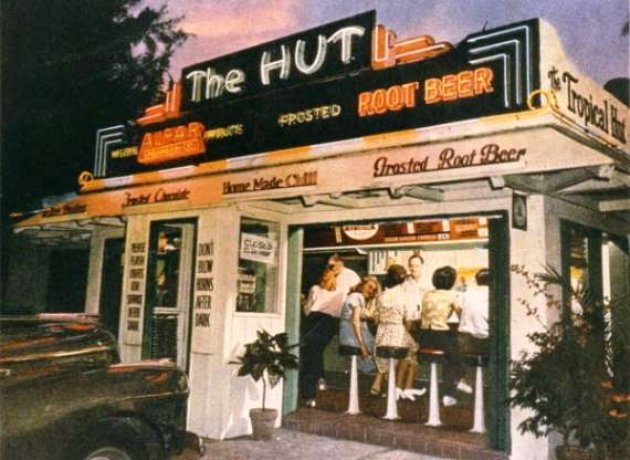 The Hut Palm Beach Florida