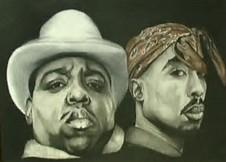 biggie & tupac chillin