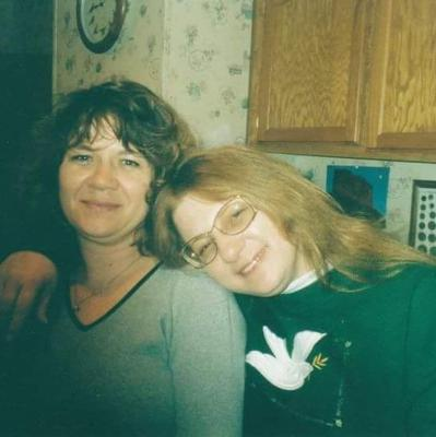 My mom Shelia and her Sister Shelly