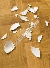 plates smashed
