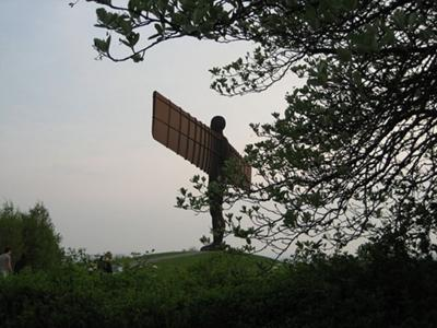 The Angel of the North, by Antony Gormley
